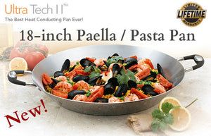 Utra-Tech 18 inch Paella and Pasta Pan