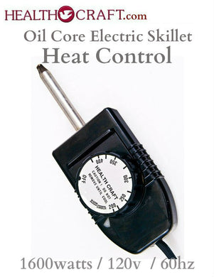 Health Craft, Saladmaster Oil Core Electric Skillet Heat Control