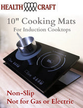 Load image into Gallery viewer, 10-inch non-slip Rubber Cooking Mat for Induction Cooktops - FREE w/Cooktops