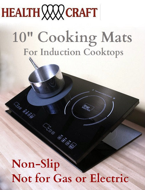 10-inch non-slip Rubber Cooking Mat for Induction Cooktops - FREE w/Cooktops