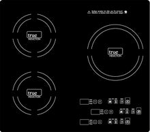 Load image into Gallery viewer, Health Craft True Induction True Induction Triple Burner Induction Cook-Top, Counter-Top or Counter Inset