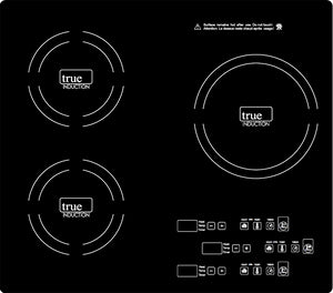 True Induction Triple Burner Induction Cook-Top, Counter-Top or Counter Inset