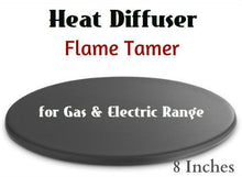 Load image into Gallery viewer, 8in Heat Diffuser Flame Tamer prevents overheating handles