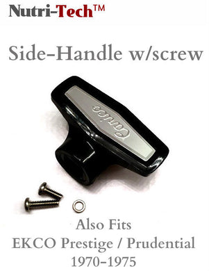 Nutri-Tech Side Handle w/screw - Mango de lado pequeño - Carico also fits EKCO
