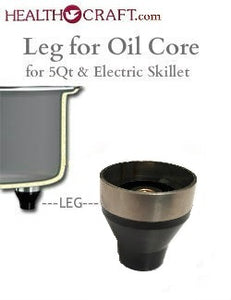 "LEG for 5QT Oil Core Electric Saucepan and 12"" Oil Core Electric Skillet"