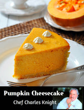 Load image into Gallery viewer, Pumpkin Cheesecake
