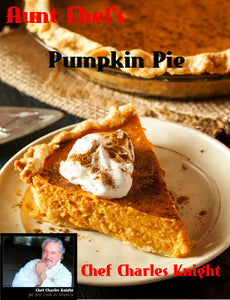 Aunt Ethel's Pumpkin Pie