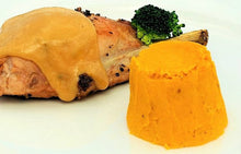 Load image into Gallery viewer, Carrot, Butternut Squash or Pumpkin Timbale by Chef Tell