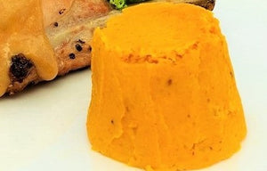 Carrot, Butternut Squash or Pumpkin Timbale by Chef Tell
