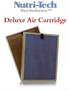 PureAmbience and Nutri-Tech DELUXE Air Filter Cartridge - Call 800-443-8079 for Model No. Price