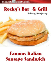 Load image into Gallery viewer, Uncle Rocky's Famous Italian Sausage Sandwich