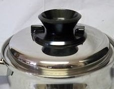West Bend KNOB KIT Vapor Valve for Permanent & Royal Queen waterless cookware