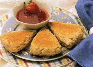 Gram's Griddle Oat Scones