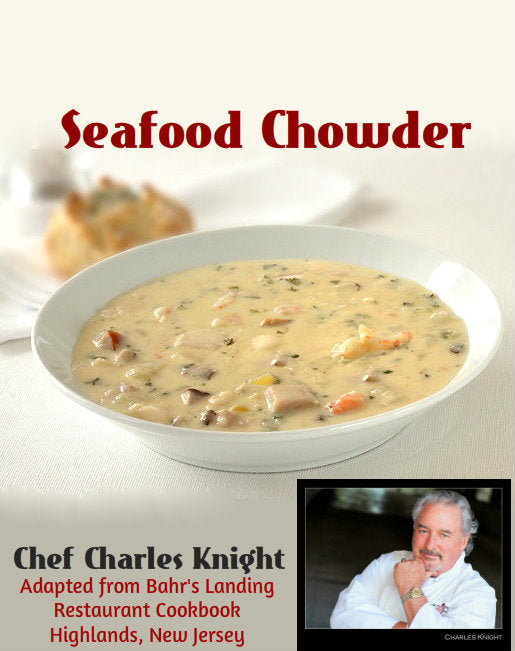 Exit 105 New Jersey Down the Shore Seafood Chowder