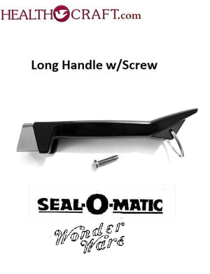 LONG HANDLE and SCREW for Waterless Cookware brands; Camelot, Duncan Hines, Seal-O-Matic, Seal Rite, Wonder Ware