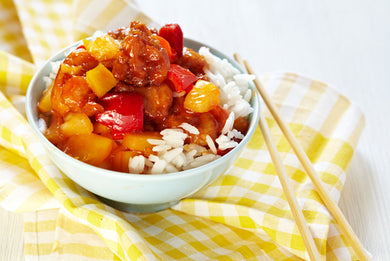 Hawaiian Meatballs sweet and sour