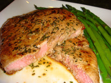 Load image into Gallery viewer, SPICY TUNA STEAKS with Chardonay Ginger Glaze see video