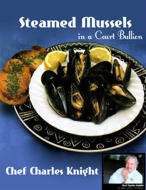 Steamed Mussels in Court Bullion recipe and video