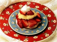 Stovetop Strawberry Shortcake