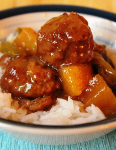 Hawaiian Sweet & Sour Meatballs - See Video