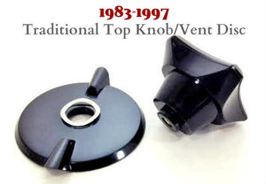 Recycled TOP KNOB, VENT DISC and Wave Washer for Health Craft and Weston Hall waterless cookware