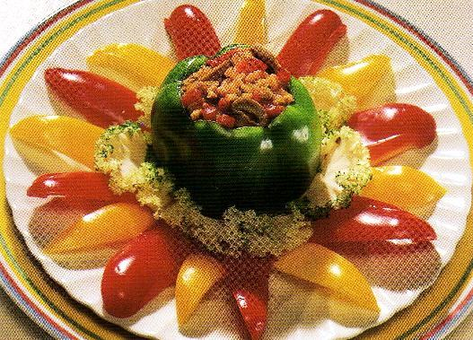 Turkey Stuffed Peppers - See Video