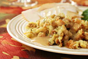 Grandmother's Mother's Wife's Simple Easy Turkey Stuffing and Gravy Recipe