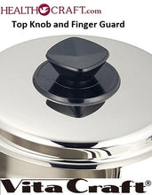 Load image into Gallery viewer, TOP KNOB and FINGER GUARD for Vita Craft waterless cookware - perilla y protector de dedos