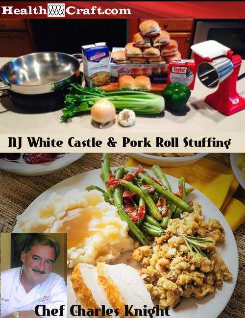 New Jersey White Castle Pork Roll Stuffing – FUGGETABOUTIT!