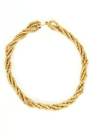 Brass Link Necklace - Long