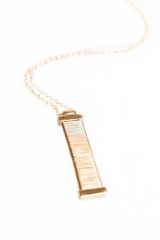 Gold Wrapped Necklace