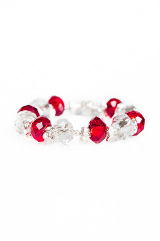 STOP the Traffick! Limited Edition Bracelet - Red Flowers