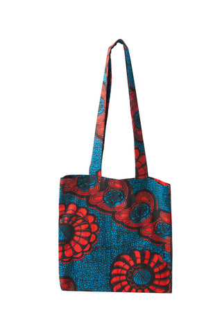 Tanzanian Dream - Blue Tote Shopping Bag