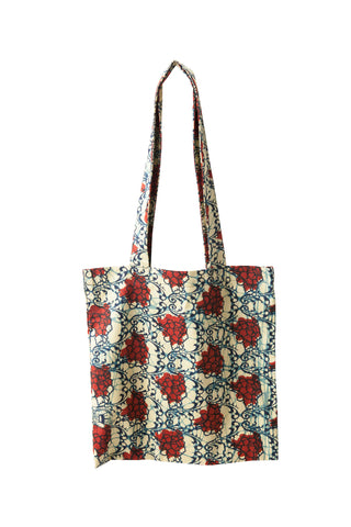Tanzanian Dream - Red Tote Shopping Bag