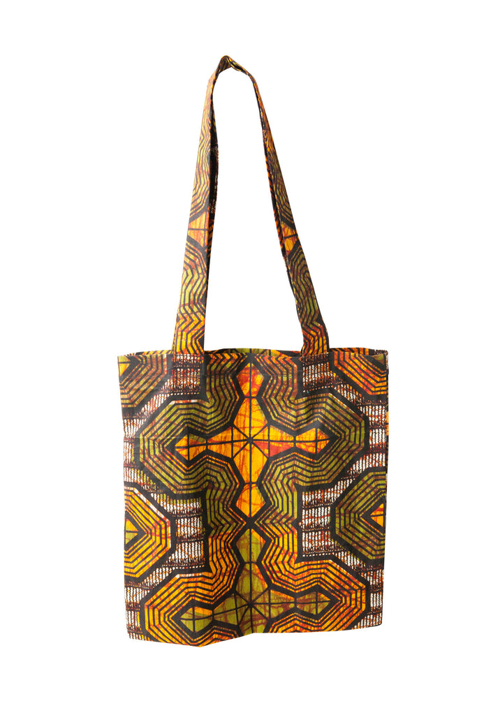 Tanzanian Dream - Olive Green Shopping Bag
