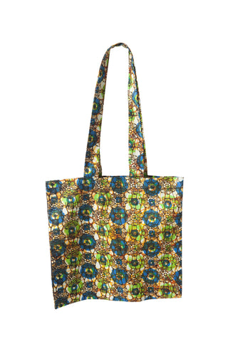 Tanzanian Dream - Lime Green Shopping Bag