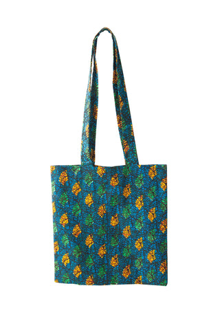 Tanzanian Dream - Blue Green Shopping Bag