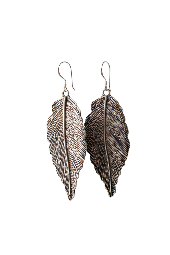 Inspire Earrings - Antique Silver
