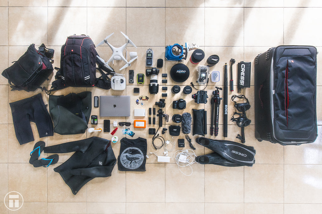 Packing for Tonga with Manfrotto