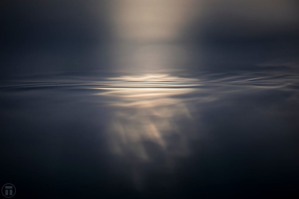 Blanket of Light A beautiful photo of the light on the ocean surface by Philip Thurston