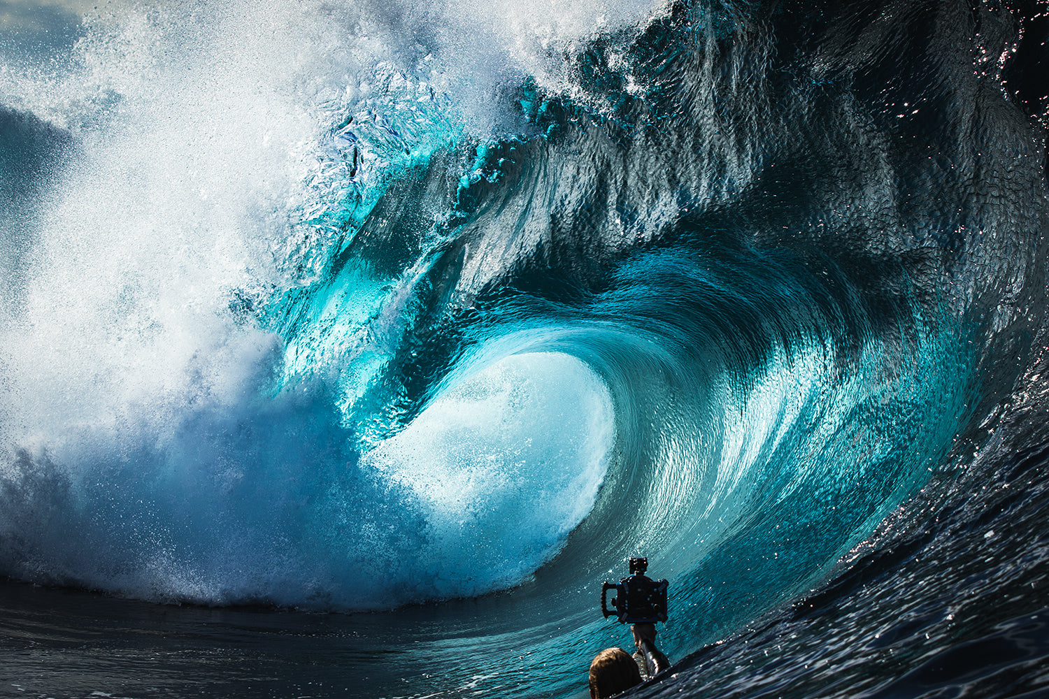 Phil Thurston; ocean surf art photographer