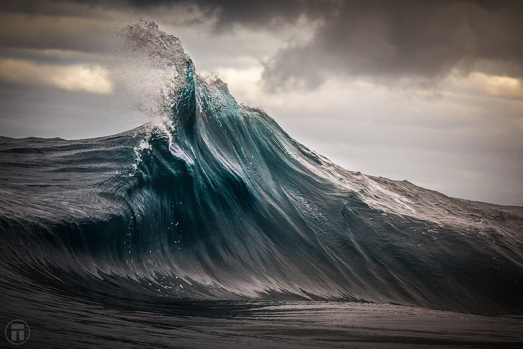 Defiance - Fine Art Ocean Photo by Philip Thurston