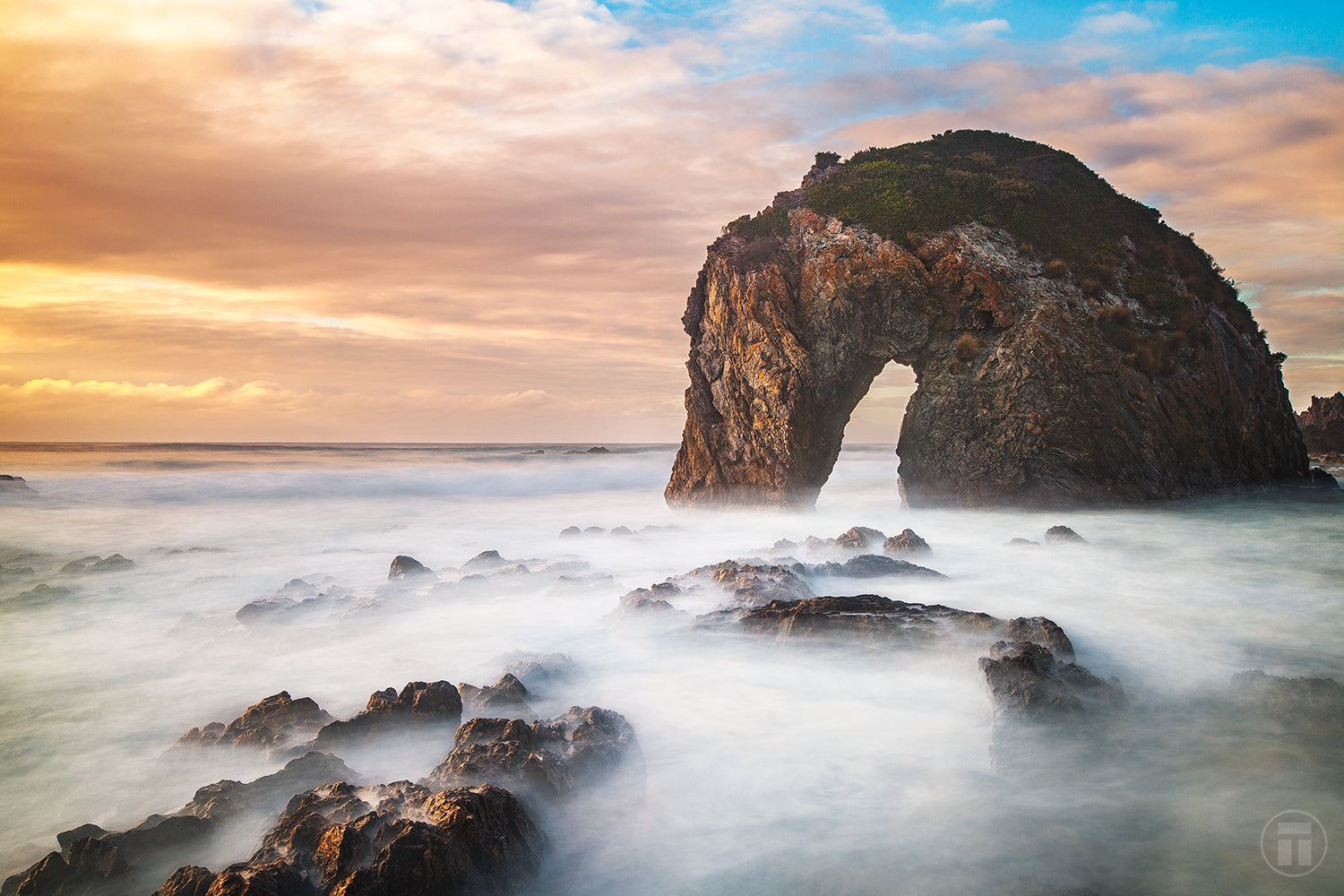 Horse Head Rock, Bermagui by Thurston Photo