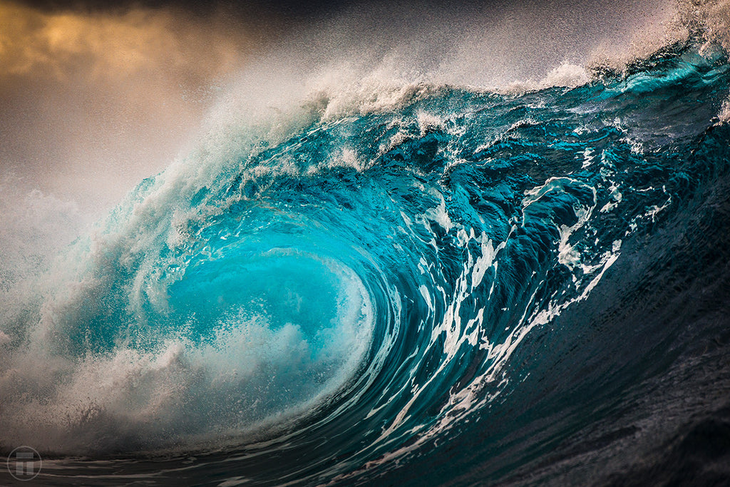 Electric - Ocean Art Prints by Thurston Photo