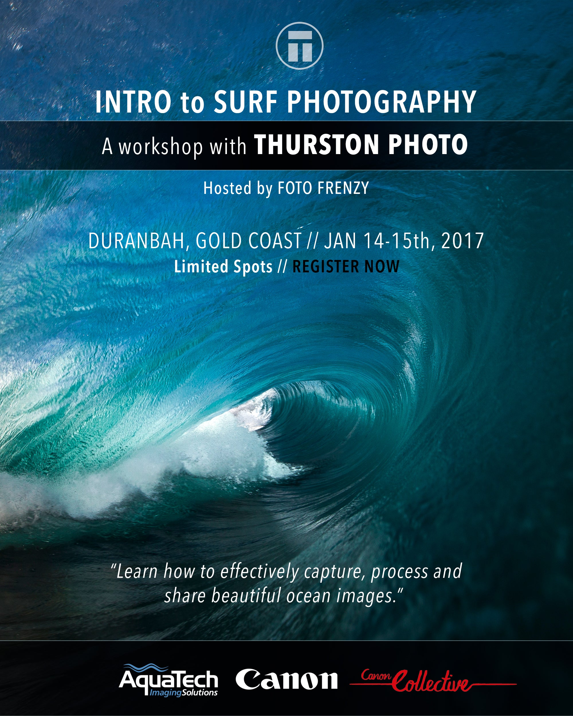 Intro to Shooting Waves with Thurston Photo
