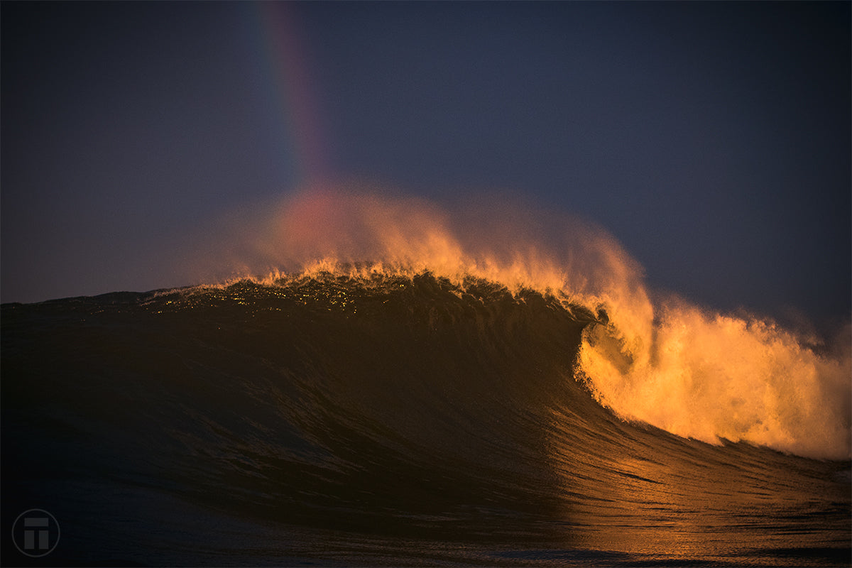 Waves Of Gold at the end of the rainbow - Thurston Photo
