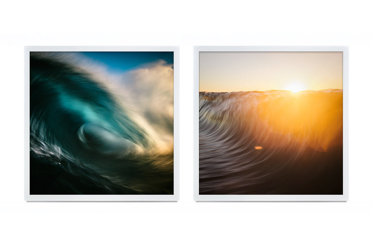 Thurston Photo Flomocean square cropped Ocean art frames