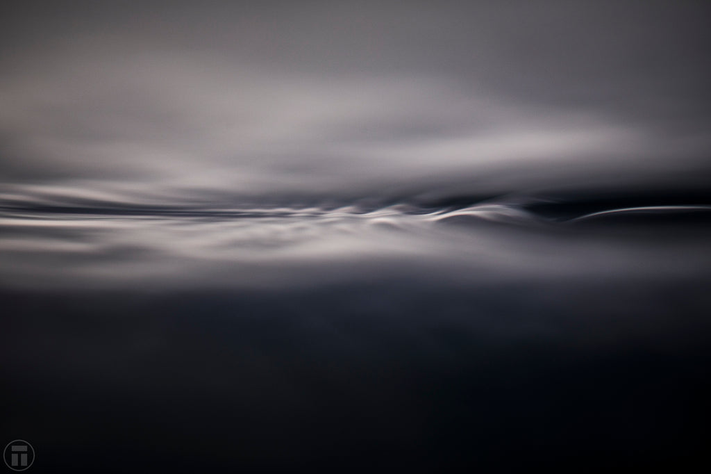 Subtle textures of light and water by Thurston Photo