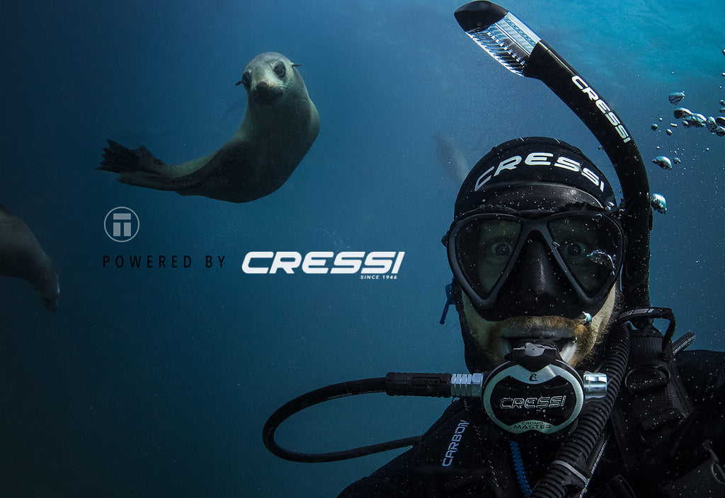 Scuba diving with Cressi and Thurston Photo