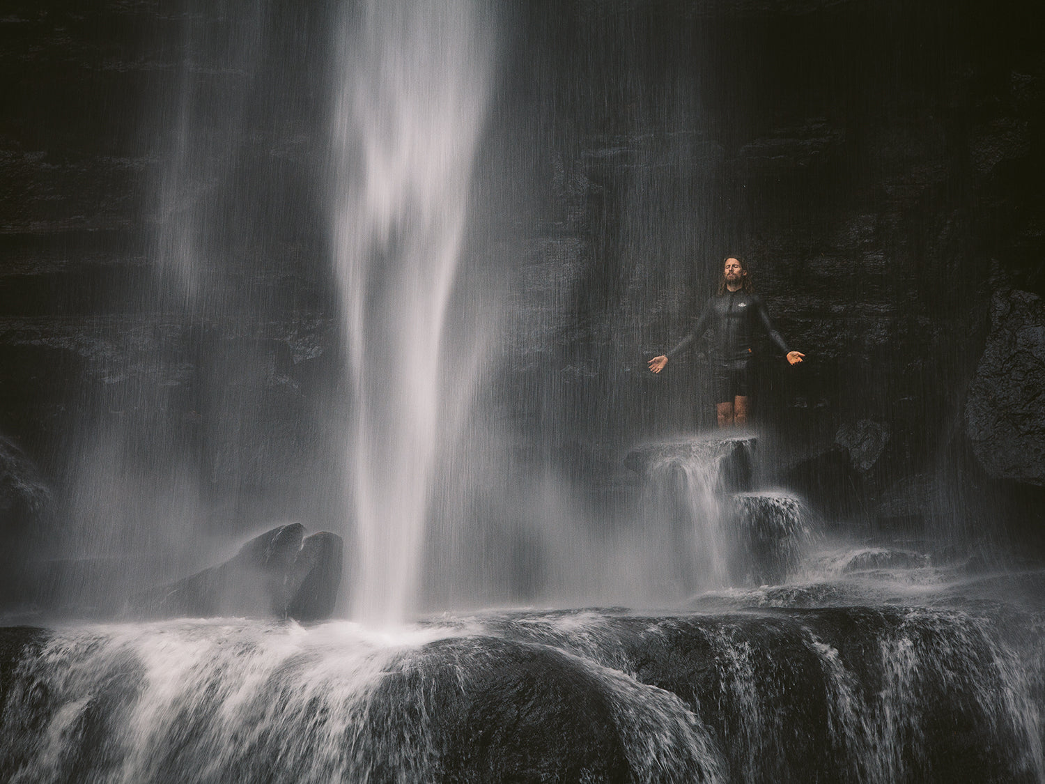 Water fall magic with Thurston Photo by Morgan Lee Alain